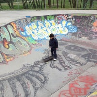 Photo taken at Skatepark - bowl by Francesco P. on 3/18/2012
