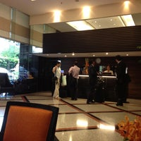 Photo taken at Bandara Suites Silom by MC M. on 7/5/2012