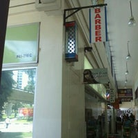 Photo taken at Yew Tee Barber by Pangeran S. on 2/12/2012