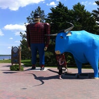Photo taken at Paul Bunyan & Babe The Blue Ox by John M. on 5/21/2012