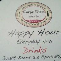Foto tomada en Carpe Diem Wine Bar por Phillip H. el 3/3/2012