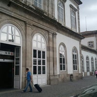 Photo taken at Estação Ferroviária de Porto-Campanhã by Manuel C. on 6/17/2012