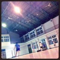 Photo taken at Badminton Club by Patcharee S. on 5/3/2012