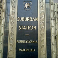 Photo taken at SEPTA Suburban Station by Mike C. on 6/26/2011