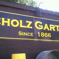 Photo taken at Scholz Garten by Louie G. on 9/1/2011