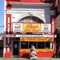Photo taken at Ben's Chili Bowl by Jessica B. on 3/27/2012