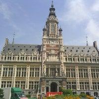 Photo taken at Place Colignonplein by John W. on 5/24/2012