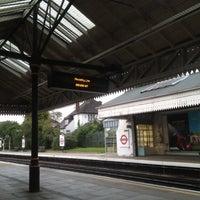 Photo taken at Boston Manor London Underground Station by Jon B. on 6/22/2012