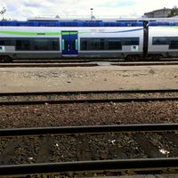 Photo taken at Gare SNCF d'Alençon by Camille F. on 8/12/2012