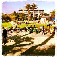 Photo taken at Playa Vista Concert Park by Jules S. on 7/28/2012