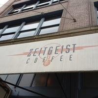 Photo taken at Zeitgeist Kunst & Kaffee by Felice L. on 2/10/2012