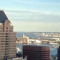 Photo taken at Embassy Suites by Hilton Baltimore Inner Harbor by Terry on 4/17/2012