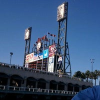 Photo taken at McCovey Cove by Shawn S. on 6/27/2011
