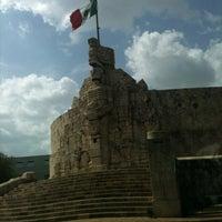 Photo taken at Paseo de Montejo by Nalle J. on 7/21/2012