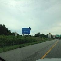 Photo taken at Delaware / Pennsylvania State Border by Orlando G. on 8/1/2012