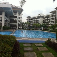 Photo taken at Riverfront Residences - Swimming Pool by Migsy J. on 8/25/2011
