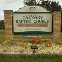 Photo taken at Calvary Baptist by Kelly O. on 11/22/2011
