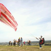 Снимок сделан в Гора Для Полётов На Парапланах пользователем Denis V. 9/1/2012