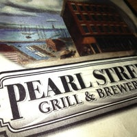 Photo taken at Pearl Street Grill & Brewery by Ben U. on 8/1/2012