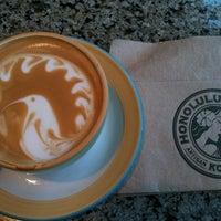 Photo taken at Honolulu Coffee Company by david s. on 1/27/2011