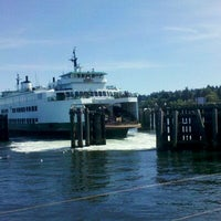Photo taken at Clinton Ferry Terminal by Dave S. on 7/9/2011
