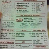 Photo taken at Jake's Wayback Burgers by Stephen M. on 12/29/2011