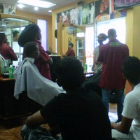 Photo taken at Boom Champions Barber Salon by Andre A. on 8/10/2012