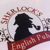 Photo taken at Sherlock's Pub by Ricardo P. on 4/20/2012