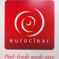 Photo taken at Euroclear HQ by Blandinebs on 3/7/2012