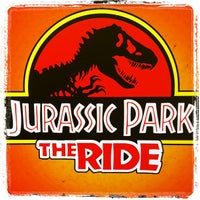 Photo taken at Jurassic Park The Ride by Albert E. on 11/3/2011