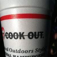 Photo taken at Cook-Out by Monica E. on 3/1/2012