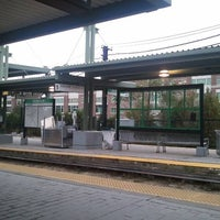 Photo taken at MBTA Riverside Station by Shaun B. on 10/19/2011