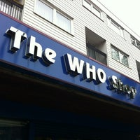Photo taken at The Who Shop & Museum by Jess S. on 7/16/2012