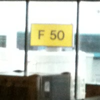 Photo taken at Gate F50 by Frizz R. on 1/30/2011