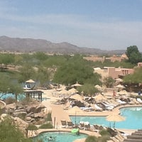 Photo taken at Sheraton Wild Horse Pass Resort & Spa by Guy R. on 4/18/2012