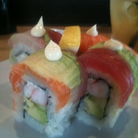 Photo taken at O-Sushi by Jasmine H. on 6/26/2011
