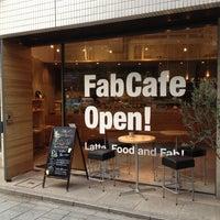 Photo taken at FabCafe Tokyo by Haruki Y. on 8/10/2012
