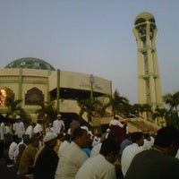 Photo taken at Mesjid Darul Hikam by rizky k. on 8/18/2012