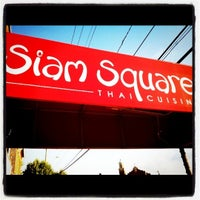 Photo taken at Siam Square Thai Cuisine by Meggie on 8/27/2011