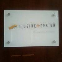 Photo taken at L'Usine à Design.com HQ by Roch on 5/19/2011