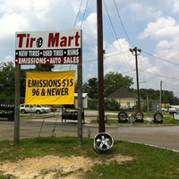 Photo taken at Tire Mart by Chip M. on 7/1/2011