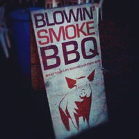 Photo taken at Blowin Smoke BBQ by Jeremiah on 8/19/2012