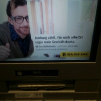 Photo taken at Berliner Bank by bnz on 1/9/2012