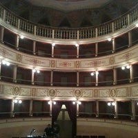 Photo taken at Teatro Comunale Piermarini by Armando G. on 3/10/2012