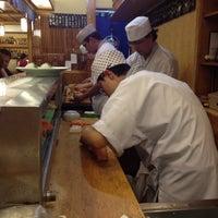 Photo taken at Sushi Yassu by Roberto V. on 4/1/2012
