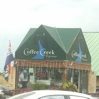 Photo taken at Coffee Creek Drive Thru Espresso by Mike H. on 8/5/2011