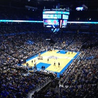 Photo taken at Chesapeake Energy Arena by Michael P. on 4/14/2012