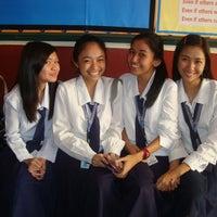 Photo taken at La Consolacion University Philippines (Formerly University of Regina Carmeli) by Ezekiel R. on 8/18/2011