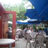 Photo taken at Cafe Alfresco by Pete B. on 7/26/2011