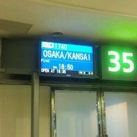 Photo taken at Gate 35 by Kuma on 2/23/2012
